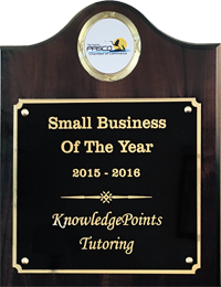 Trinity Tutoring Center Small Business of the Year